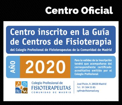 Centro inscrito en la Guía de Centros de Fisioterapia 2020